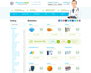 Pharmacy Mall Online Review - A Dangerous Online Pharmacy