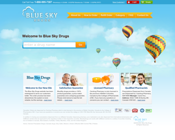 Blue Sky Drugs Review – A Rogue Pharmacy