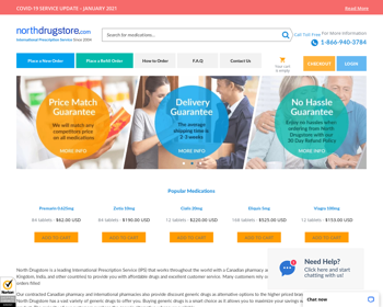North Drugstore Review - An Online Pharmacy With A