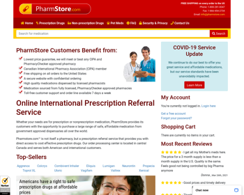 Pharm Store Review – A Discount Store With Fake Reputation
